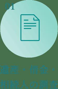 遺産・借金・相続人の調査
